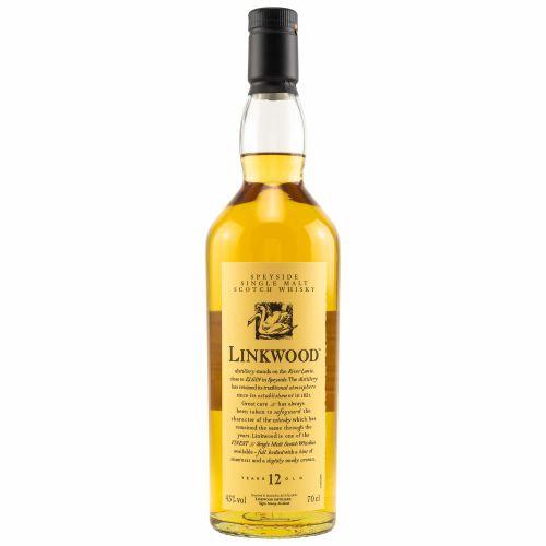 Linkwood 12 Jahre Flora & Fauna Whisky 43% vol. 0,70l
