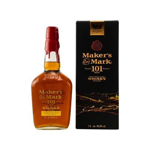 Makers Mark 101 Whiskey 50,5% vol. 1 Liter