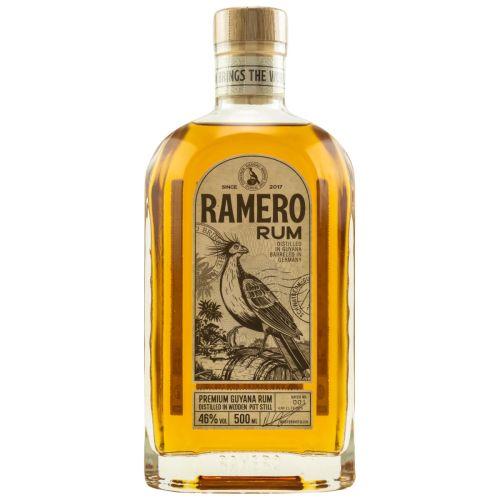 Ramero 3 Jahre Guyana Rum 46% vol. 0,50l