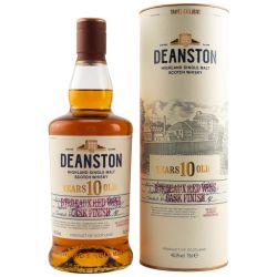 Deanston 10 Jahre Bordeaux Red Wine Cask Finish Single Malt Whisky