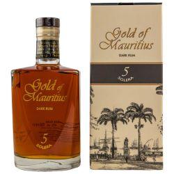Gold of Mauritius Solera 5 Jahre Dark Rum 40% vol. 0,70l