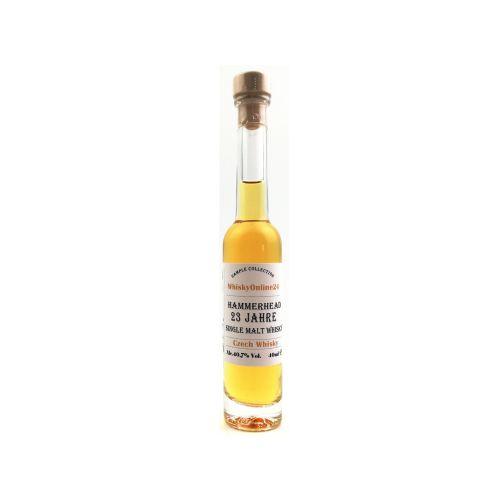 Hammer Head Vintage 1989 - 23 YO Czech Whisky Miniatur