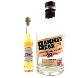 Hammer Head Vintage 1989 - 23 YO Czech Whisky Miniatur 40,7% vol. 40ml